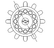 Rotor angular